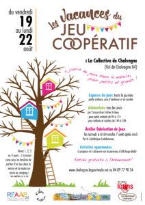 Vacances du Jeu coopératif 19-22 août 2016